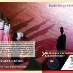 ŞEB-İ ARUS Kartal Belediyesi Mevlana Haftası etkinlikleri