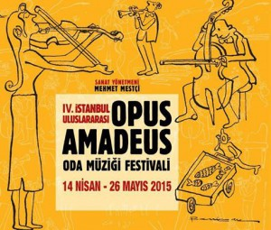 4.Uluslararası Opus Amadeus Oda Müziği Festivali 4.uluslararası opus amadeus oda müziği festivali