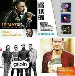 19 Mayıs konserleri İstanbul 19 Mayıs konserleri İstanbul