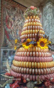 patisserie Fransız sarayında keyifli bir haftasonu