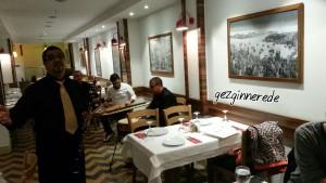 Çorlulu Savaş ve grubu kikas restaurantda fasıl