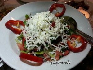 Salata kikas restaurantda fasıl