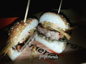 Chicken Burger burger@ göztepe