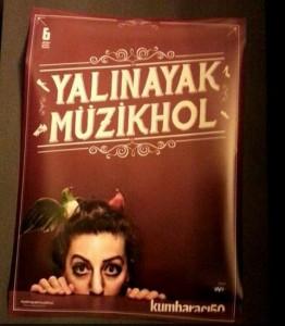 afiş yalinayak mÜzİkhol