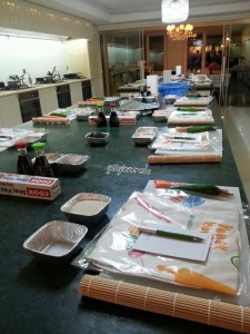 CityCooks Mutfak Okulunda Sushi workshop citycooks mutfak okulunda sushi workshopu