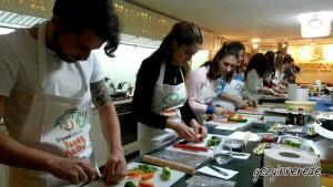 sushi yapıyoruz citycooks mutfak okulunda sushi workshopu