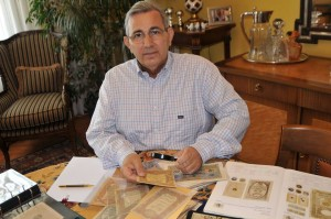 Mehmet Tezçakın Tarihimizde kağıt paralar sergisi