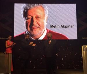 Metin Akpınar 20. İstanbul tiyatro festivali