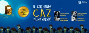 Maltepe Parktaki caz konserleri ramazan ayı boyunca gerçekleşecek etkinlikler