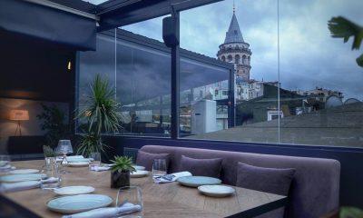 Simple İstanbul Galata kulesi